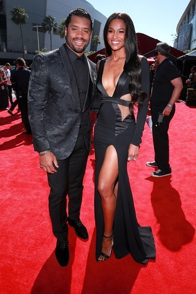 Russell Wilson and Ciara at The 2019 ESPYs  in Los Angeles, California.| Photo: Getty Images.