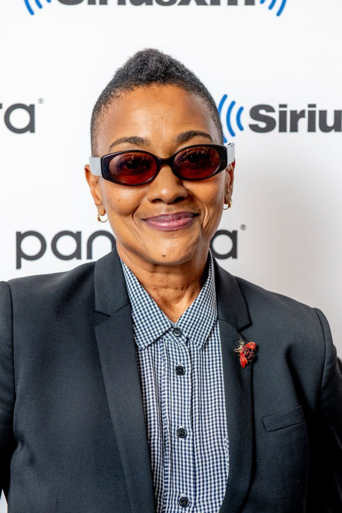 """Robyn Crawford visiting SiriusXM Studios to promote her book, """"A Song For You: My Life With Whitney Houston"""" in November 11, 2019.   Photo: Getty Images"""