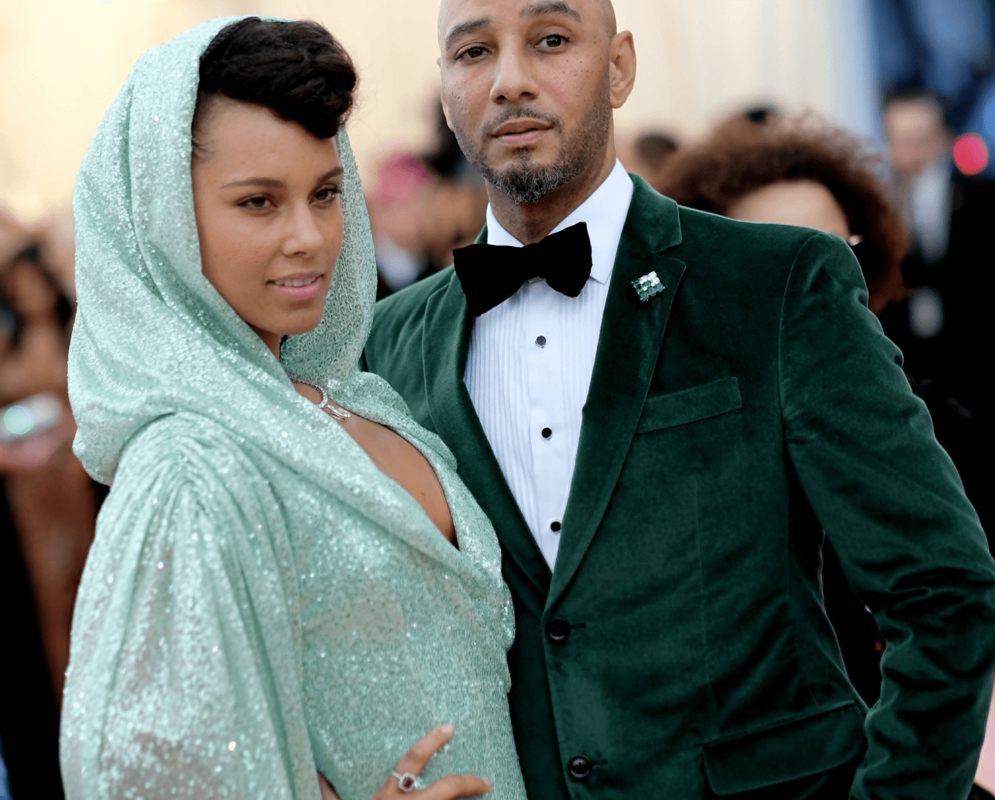Alicia Keys and Swizz Beatz at the 2019 Met Gala at the Metropolitan Museum of Art in 2019. | Source: Getty Images