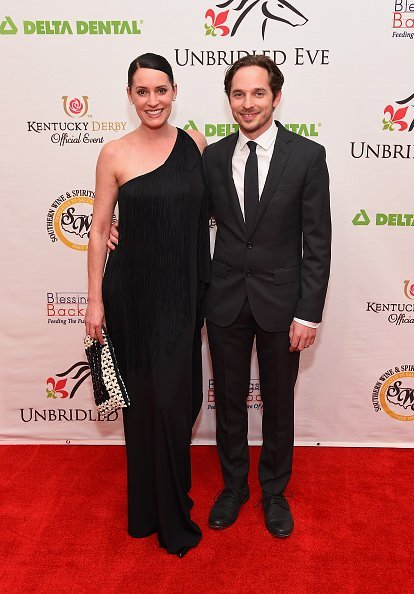 Paget Brewster and Steve Damstra at Galt House Hotel & Suites on May 1, 2015 in Louisville, Kentucky | Photo: Getty Images