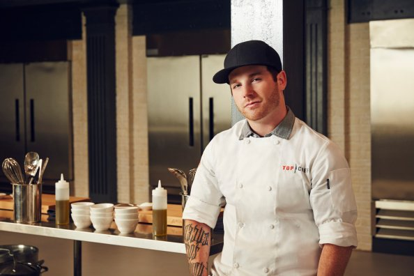 """Photo of Aaron Grissom during the Season 12 of """"Top Chef."""" 