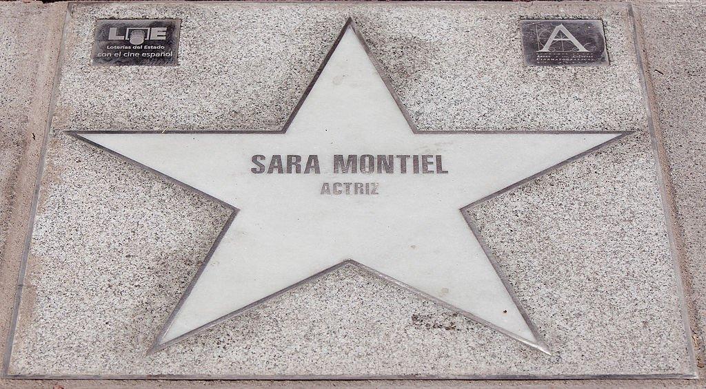 La estrella de Sara Montiel en el Paseo de la Fama. | Fuente: Getty Images