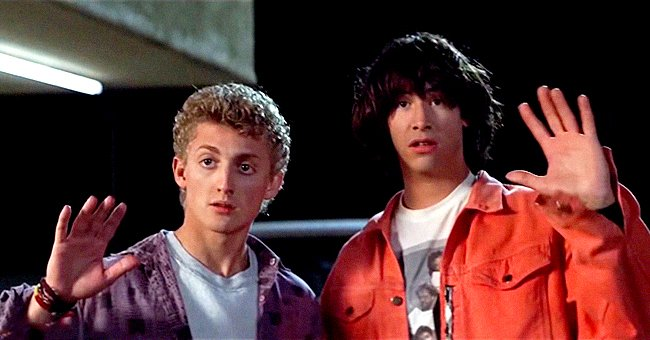 Keanu Reeves, Alex Winter & Rest of 'Bill and Ted's Excellent Adventure' Cast 31 Years after the Movie's Release