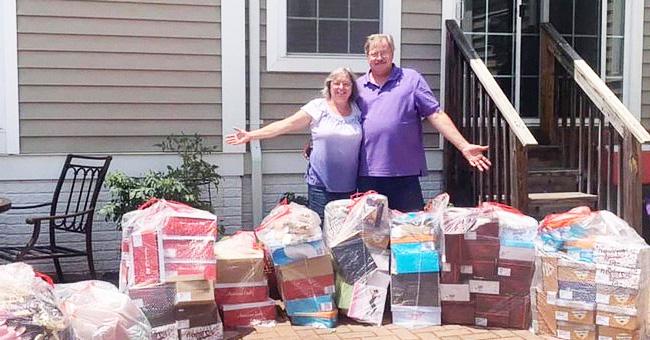 Un couple achète toutes les chaussures d'un magasin pour les offrir à un foyer pour femmes