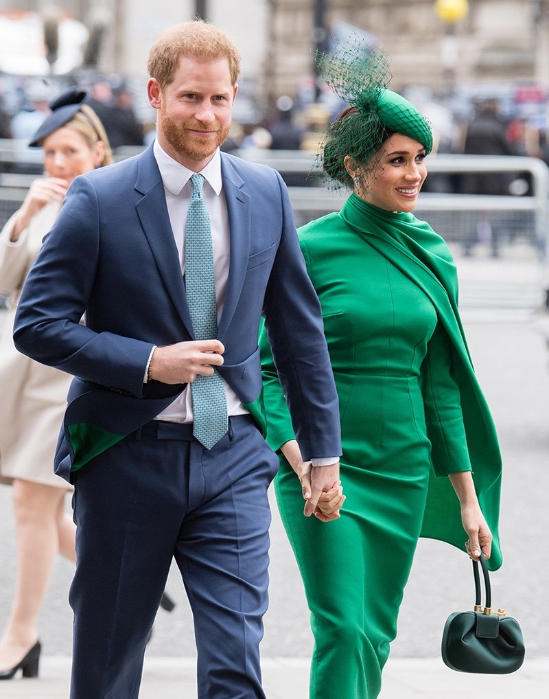 Prince Harry, Duke of Sussex and Meghan, Duchess of Sussex meets children as she attends the Commonwealth Day Service 2020 on March 09, 2020 in London, England. | Image: Getty Images.