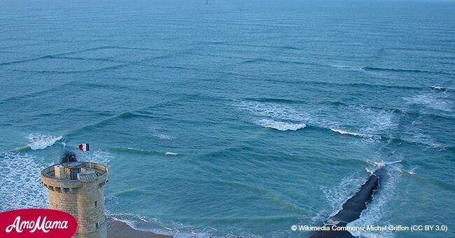 Si alguna vez encuentras olas cuadradas, deberías correr fuera del mar de inmediato