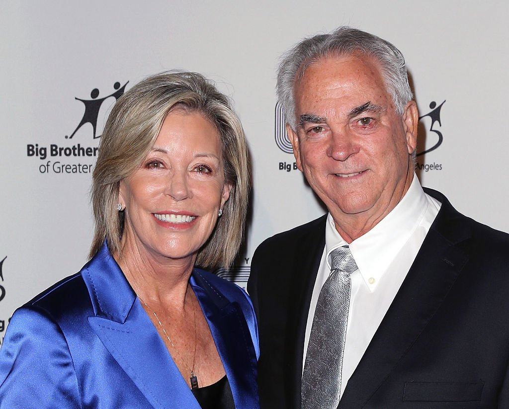Sarah Purcell (L) and Chip Schulte attend the 2015 Big Bash hosted by Big Brothers Big Sisters of Greater Los Angeles at The Beverly Hilton Hotel on October 23, 2015 | Photo: GettyImages