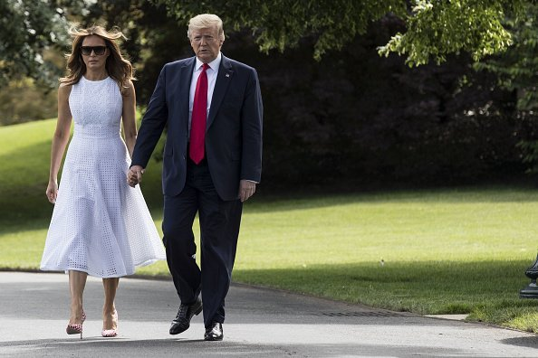 President Donald Trump And First Lady Melania Depart White House For Orlando Rally | Photo: Getty Images