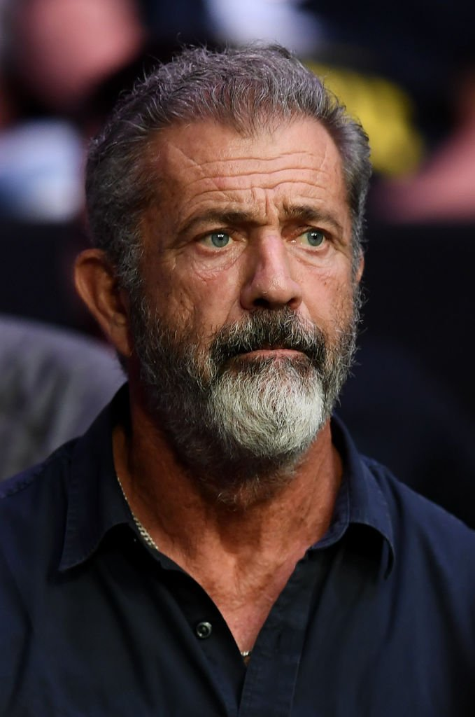 Mel Gibson at the UFC 229 at T-Mobile Arena in Las Vegas.| Photo: Getty Images