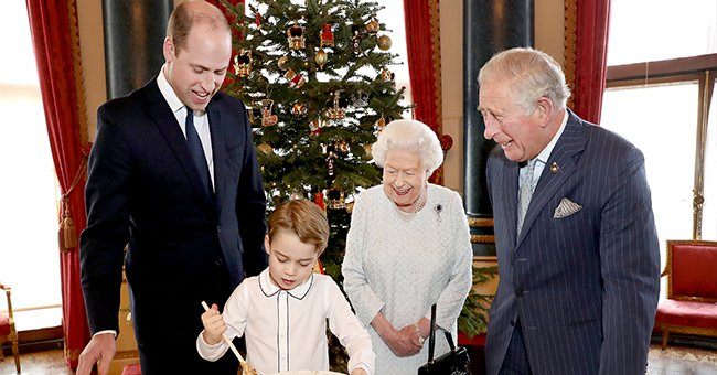 Prince George Prepared Christmas Pudding in Adorable Pics and Royal Fans Loved It