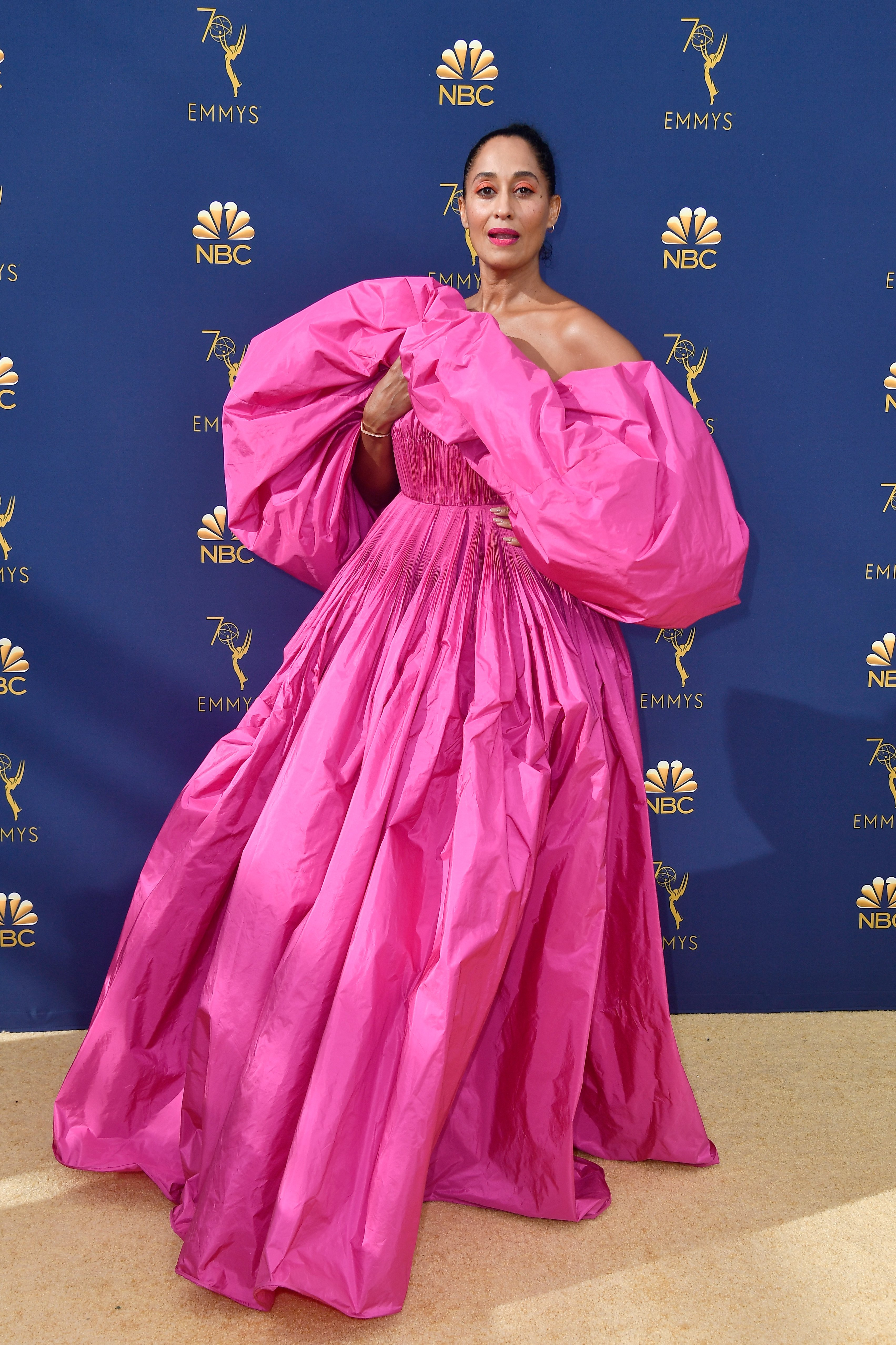 Tracee Ellis Ross at the 70th Emmy Awards at Microsoft Theater on September 17, 2018 in Los Angeles, California.| Source: Getty Images