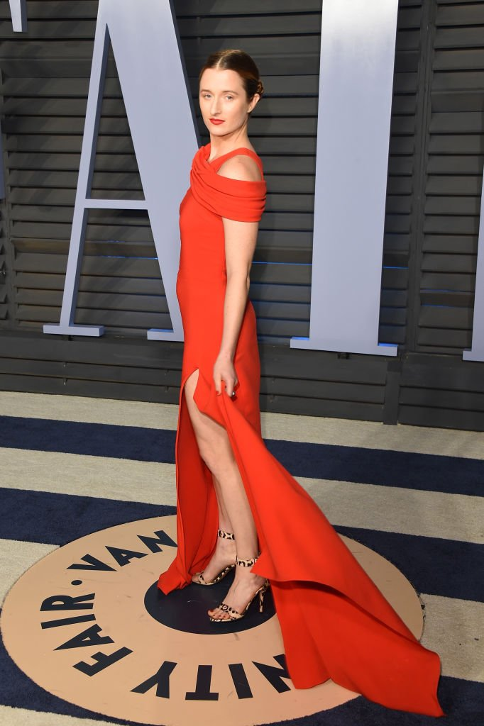 Grace Gummer attends the 2018 Vanity Fair Oscar Party.   Source: Getty Images