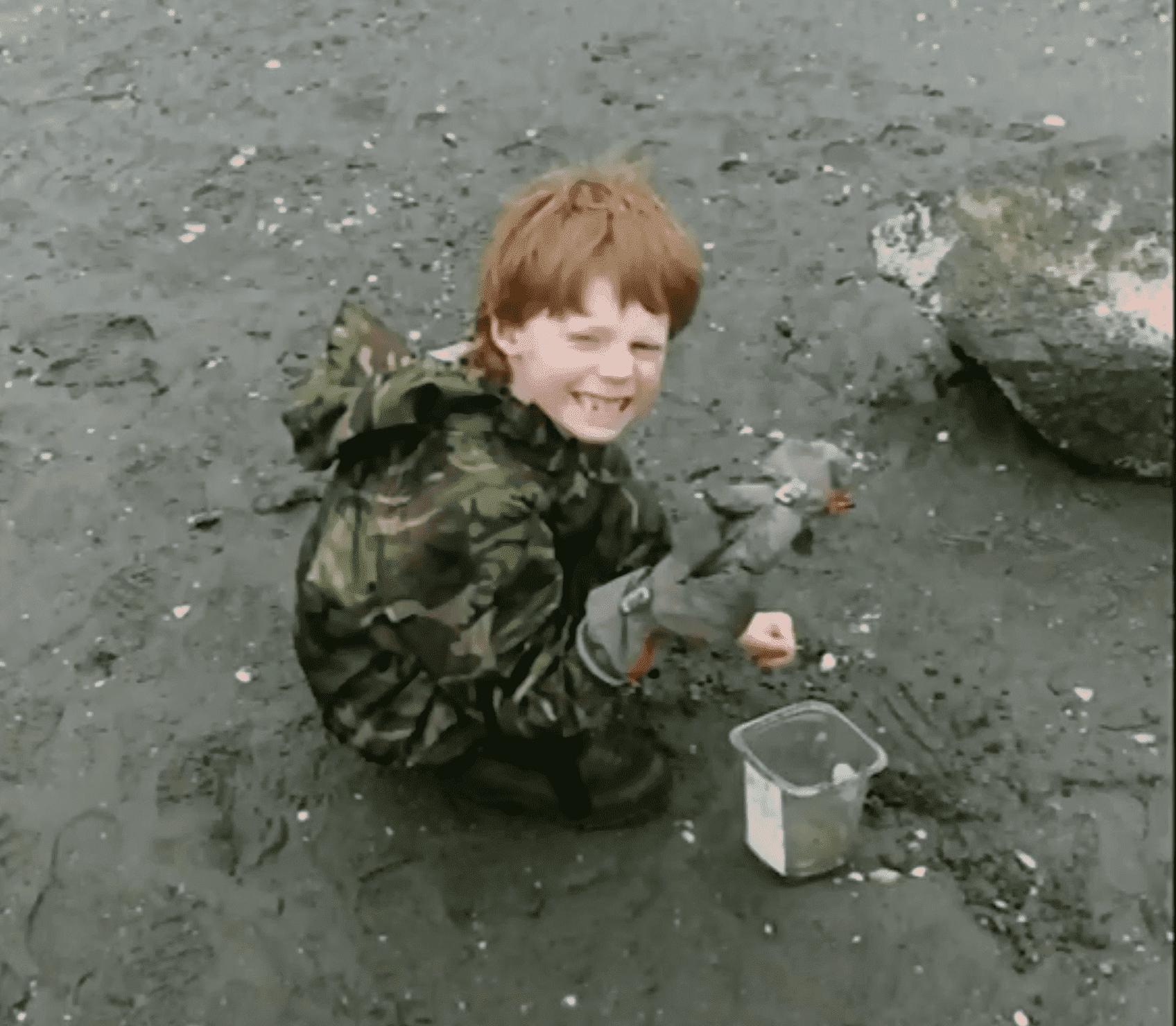 Der kleine Sohn lächelt in die Kamera | Quelle: CTVNEWS