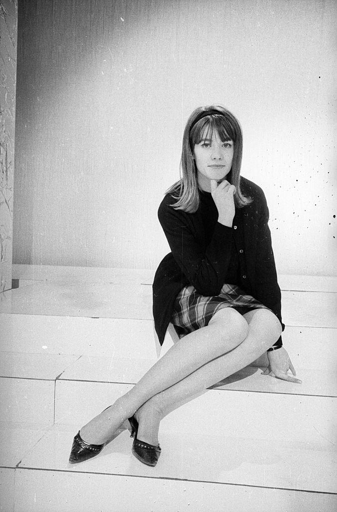 La chanteuse Françoise Hardy en 1963. l Source : Getty Images