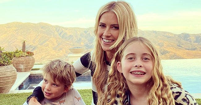 Christina Anstead Shares Cute Photo of Daughter and Son Brayden Holding a Little Pig