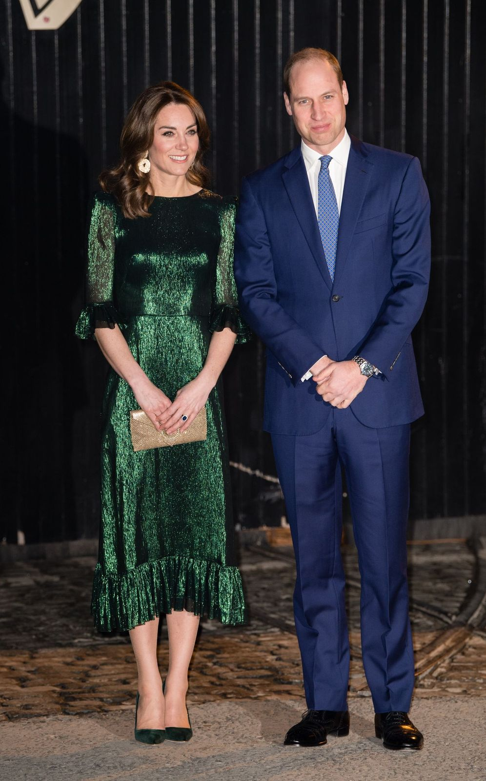 Kate Middleton and Prince William at the Guinness Storehouse's Gravity Bar during day one of their visit to Ireland on March 03, 2020 | Photo: Getty Images