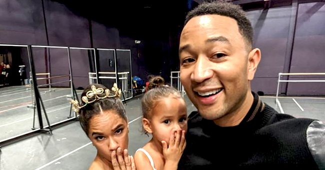 John Legend's Daughter Luna Poses with Professional Ballet Dancer Misty Copeland in Adorable Photo