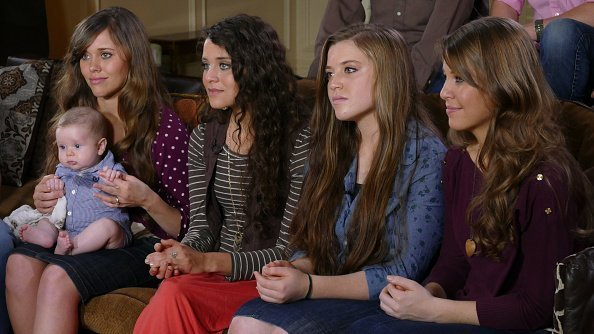 The Duggars children from their Arkansas home, for an interview on Monday, March 14 | Photo: Getty Images