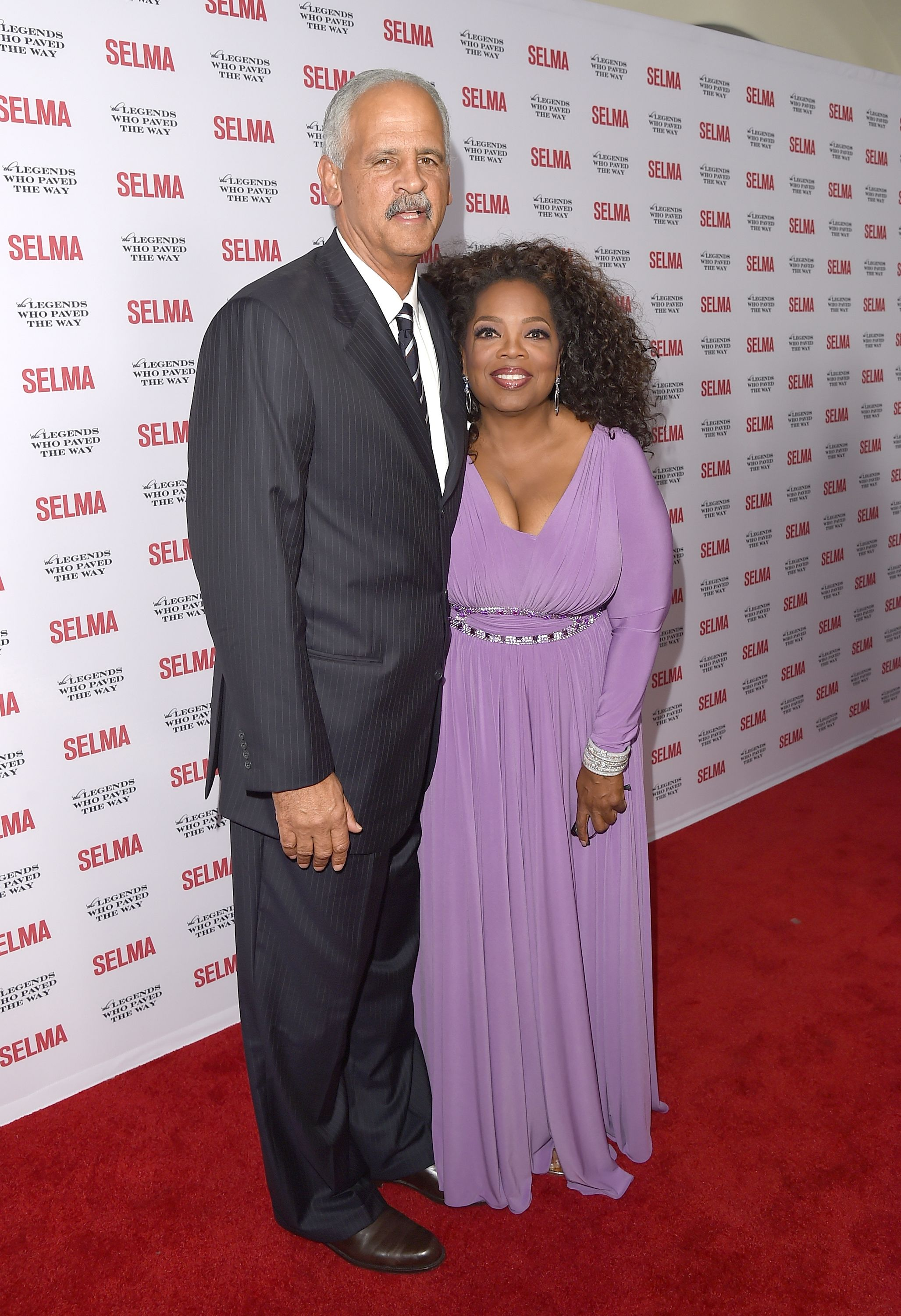 Oprah Winfrey and Stedman Graham attend the 'Selma' and the Legends Who Paved the Way Gala. | Source: Getty Images