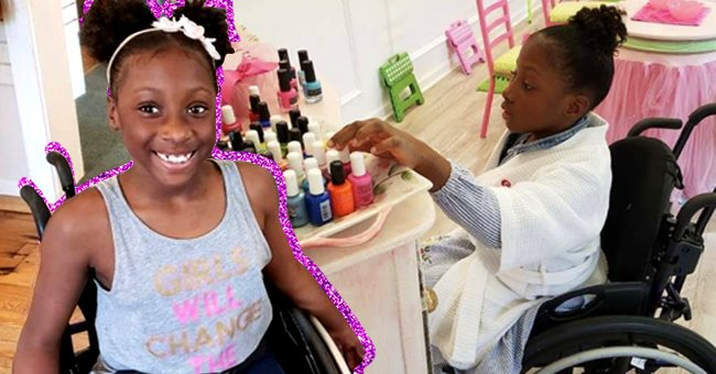 9-Year-Old Girl with Spina Bifida Sparks Joy as She Produces Her Own Nail Polish Line