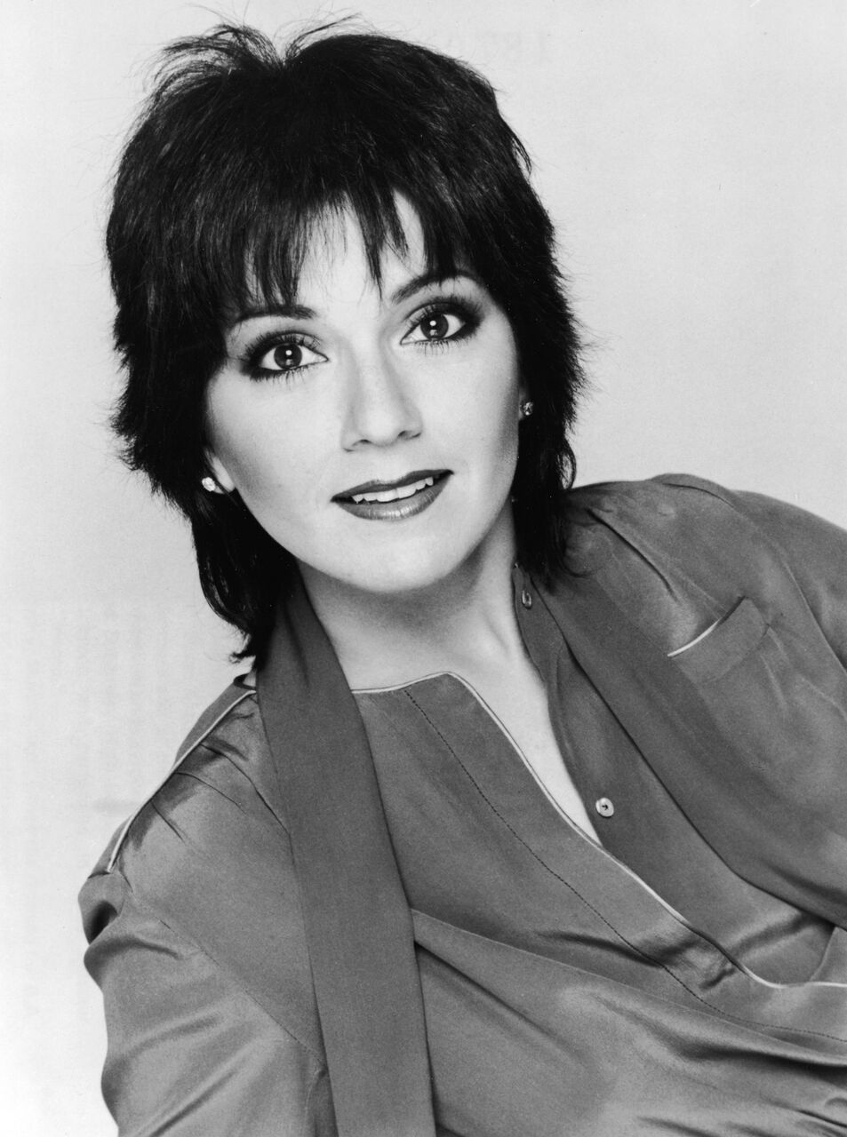 Joyce DeWitt in black and white.   Source: Getty Images