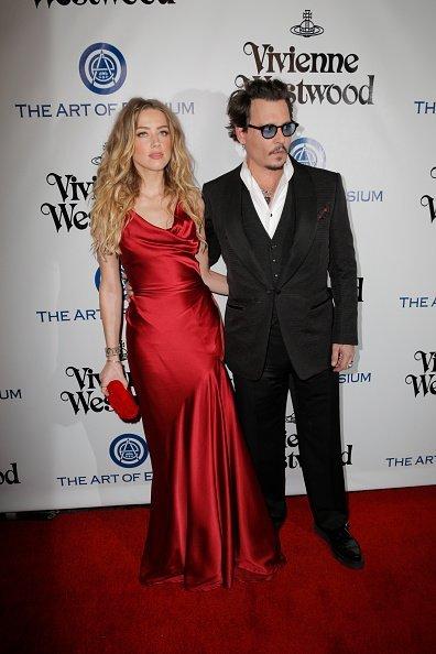 Johnny Depp und Amber Heard, Culver City, 2016 | Quelle: Getty Images