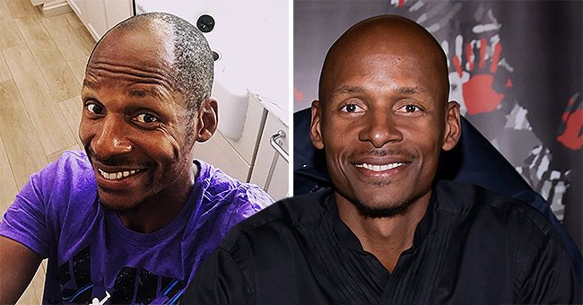 Ray Allen Shows Hairline and Challenges Other Ex NBA Players to Grow out Hair