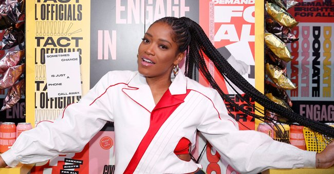 KeKe Palmer Showcases Her Figure Doing Sultry Poses in Chic Swimsuits for Instyle Photo Shoot