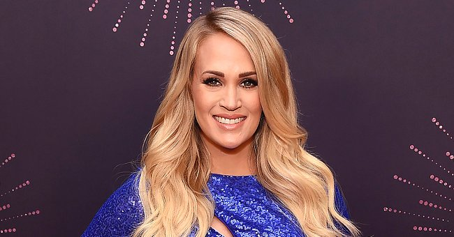 Carrie Underwood Flaunts Her Flawless Body in a New Sultry Swimsuit Photo