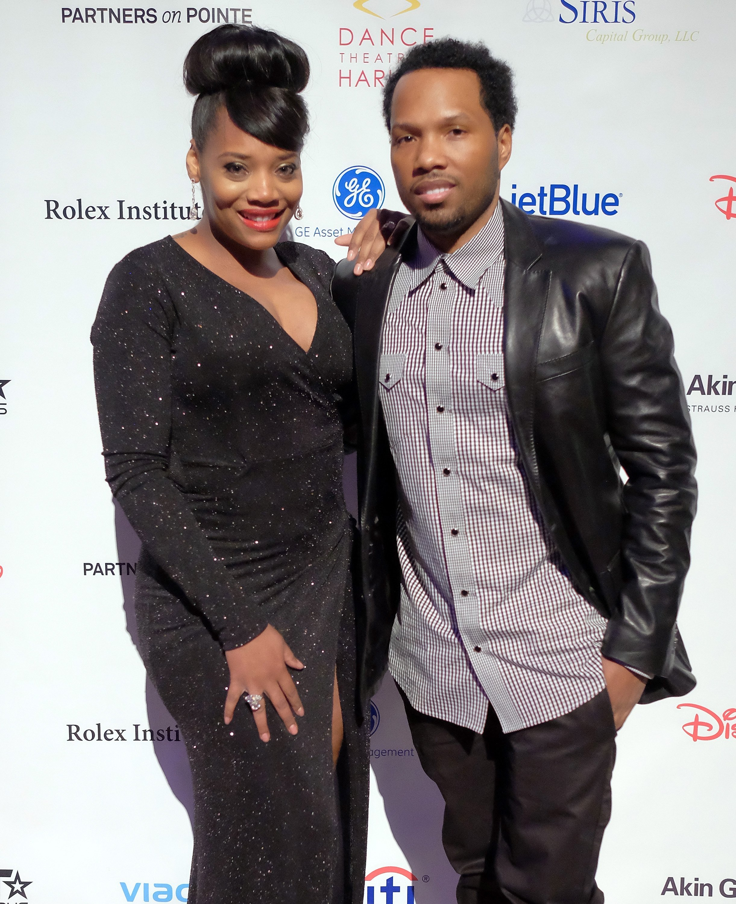 Mendeecees Harris and then-fiancee Yandy Smith at the 2015 Dance Theatre of Harlen Vision Gala in New York City on February 24, 2015. | Source: Getty Images