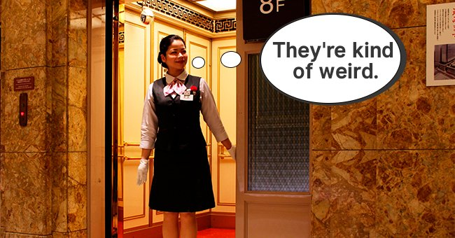 An elevator operator was shocked by the behavior of the two psychiatrists | Photo: Shutterstock