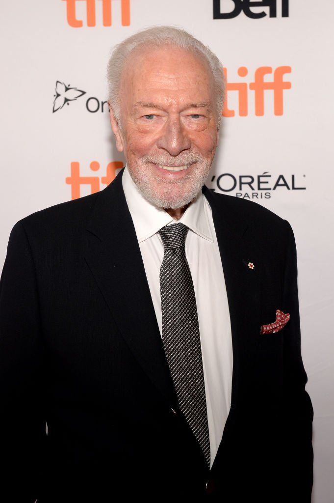 "Christopher Plummer pictured at the ""Knives Out"" premiere during the 2019 Toronto International Film Festival, Toronto, Canada. 