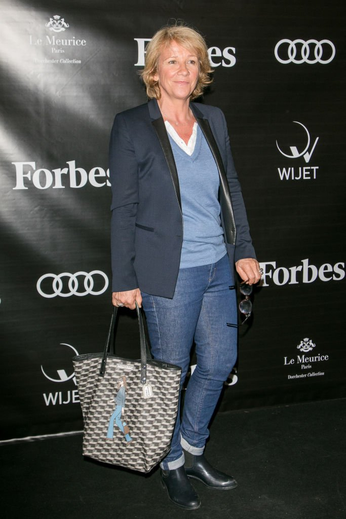 ​​Ariane Massenet assiste au lancement du magazine Forbes France | Source : Getty Images