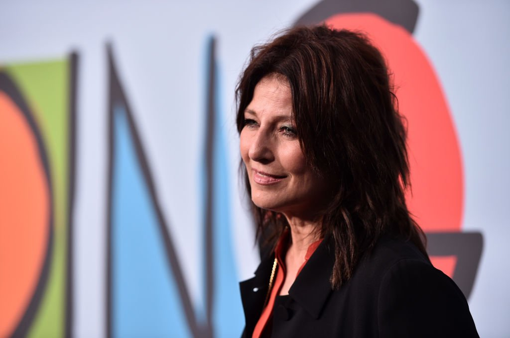 """Catherine Keener attends the premiere of Showtime's """"Kidding"""" at The Cinerama Dome on September 5, 2018. 