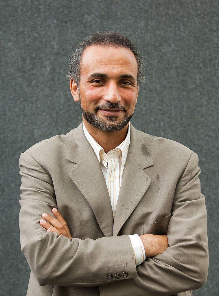 Tariq Ramadan au Festival du livre d'Édimbourg le 11 août 2007 à Édimbourg, en Écosse. Photo : Getty Images