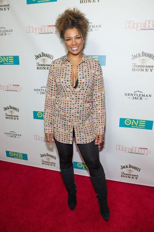 """Sister Circle"" host Syleena Johnson attends a TV One event 