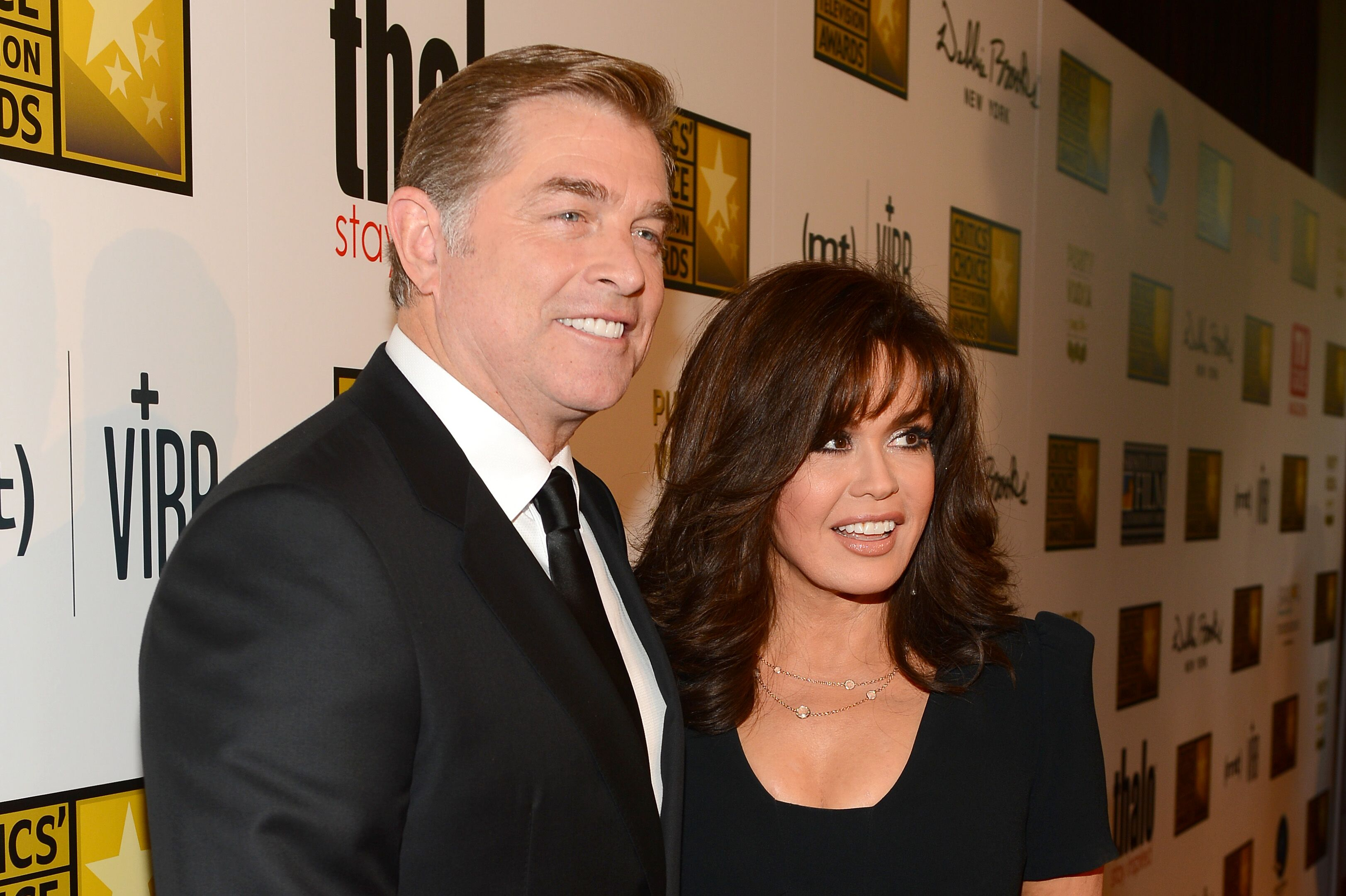 Steve Craig and Marie Osmond at the Critics' Choice Television Awards. | Source: Getty Images