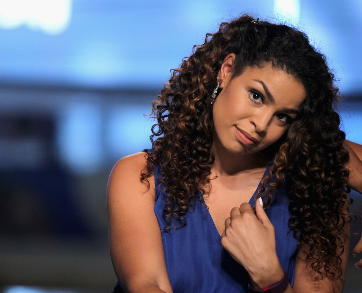 Jordin Sparks performs live on the runway at Fashion Show Las Vegas on August 15, 2015 in Las Vegas, Nevada. | Source: Getty Images