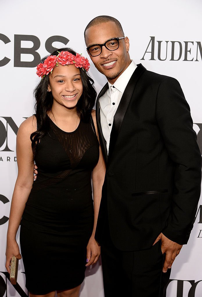 Deyjah Imani Harris & T.I. at the 68th Annual Tony Awards on June 8, 2014 in New York City | Photo: Getty Images