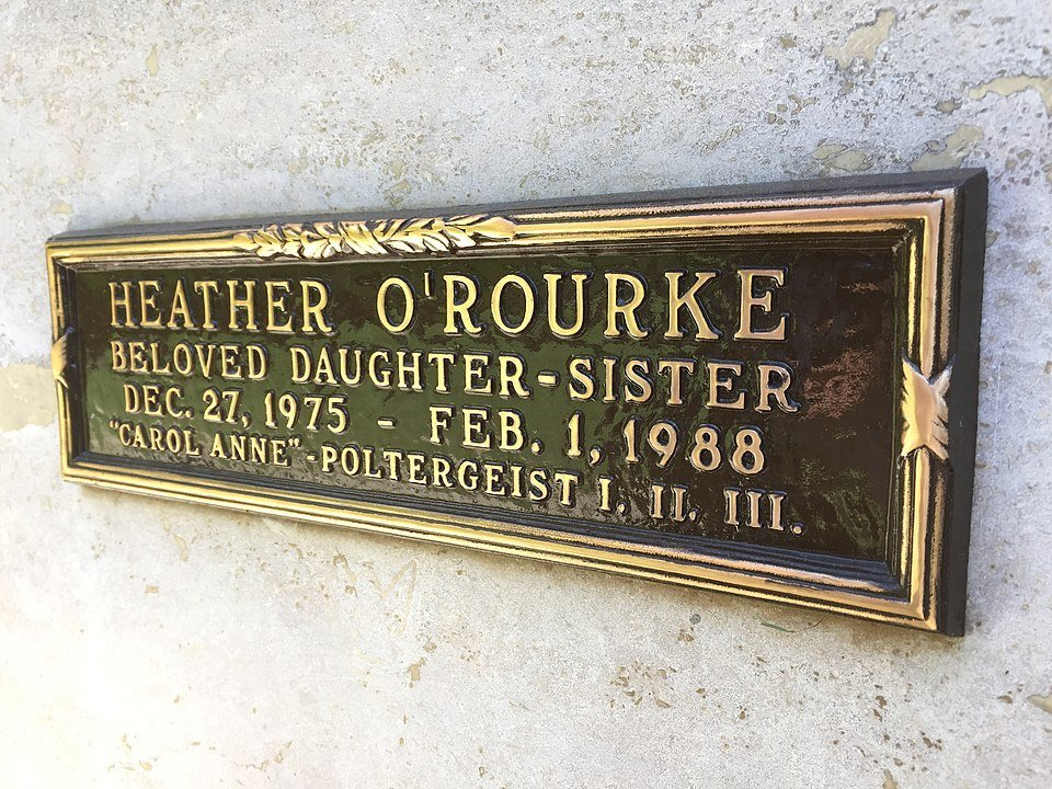 Inscription at O'Rourke's crypt | Photo: Wikimedia Commons Images