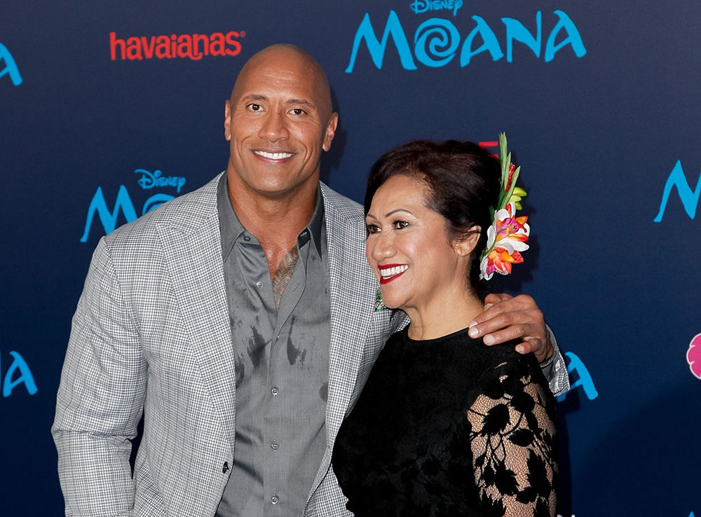 Dwayne Johnson and Ata Johnson attending the premiere of Disney's 'Moana' at AFI FEST 2016 in Hollywood, California, in November 2016. I Image: Getty Images.