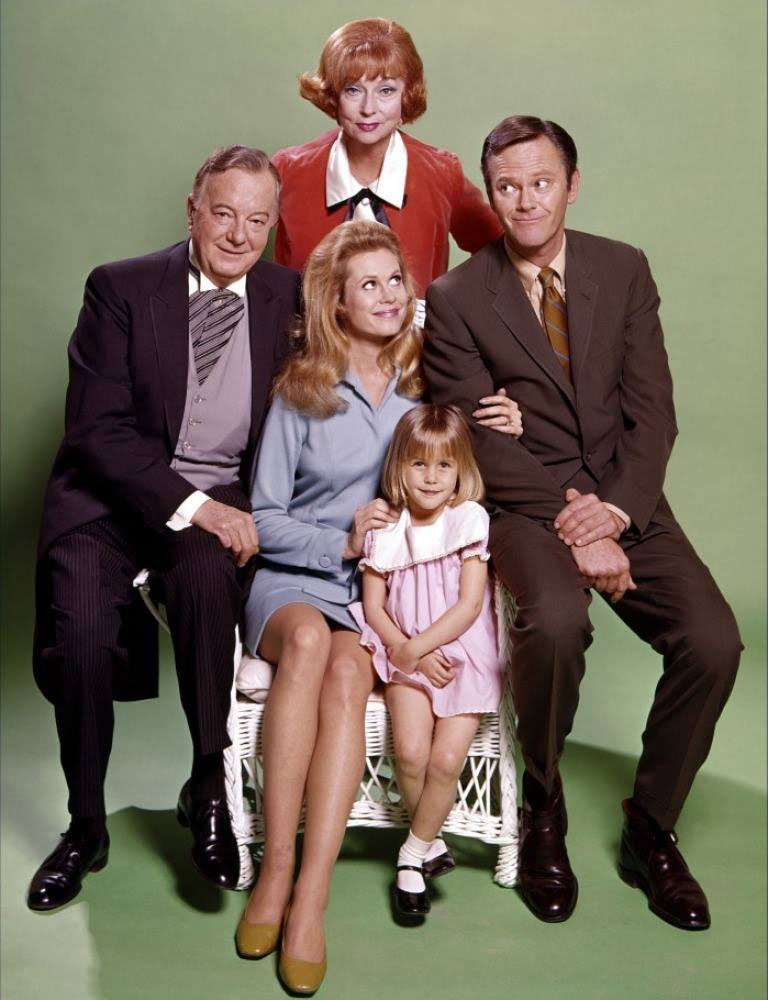 "Dick Sargent and other cast members of ""Bewitched"" 