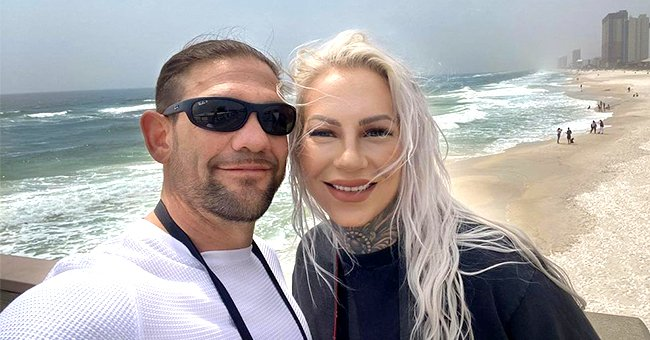 Leland Chapman Poses With Wife Jamie Pilar in a Sweet Selfie While Spending Time at the Beach