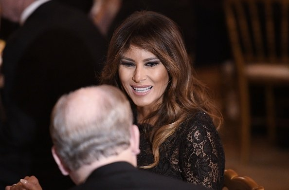 First Lady Melania Trump attends the Governors' Ball at the White House on February 25, 2018 | Photo: Getty Images