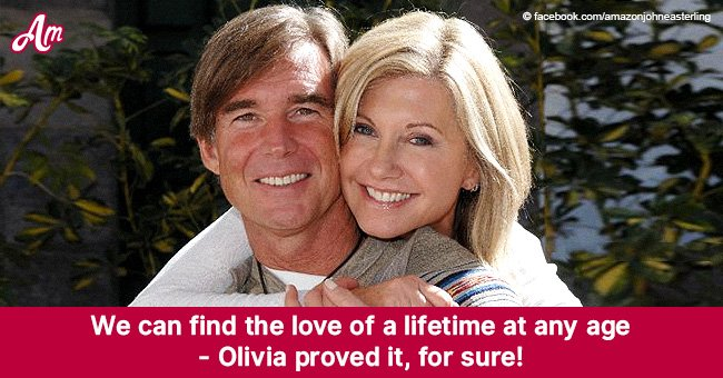 Olivia Newton-John proves you can find happiness at any age by becoming a bride at 60
