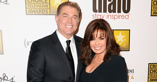 Steve Craig and Marie Osmond arrive at Broadcast Television Journalists Association's third annual Critics' Choice Television Awards | Photo: Getty Images