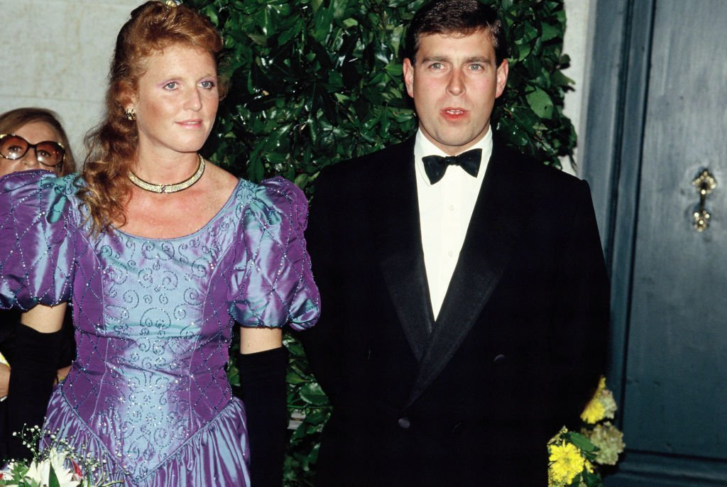 Duke and Duchess of York, Sarah and Prince Andrew, in 1990 in London | Photo: GettyImages