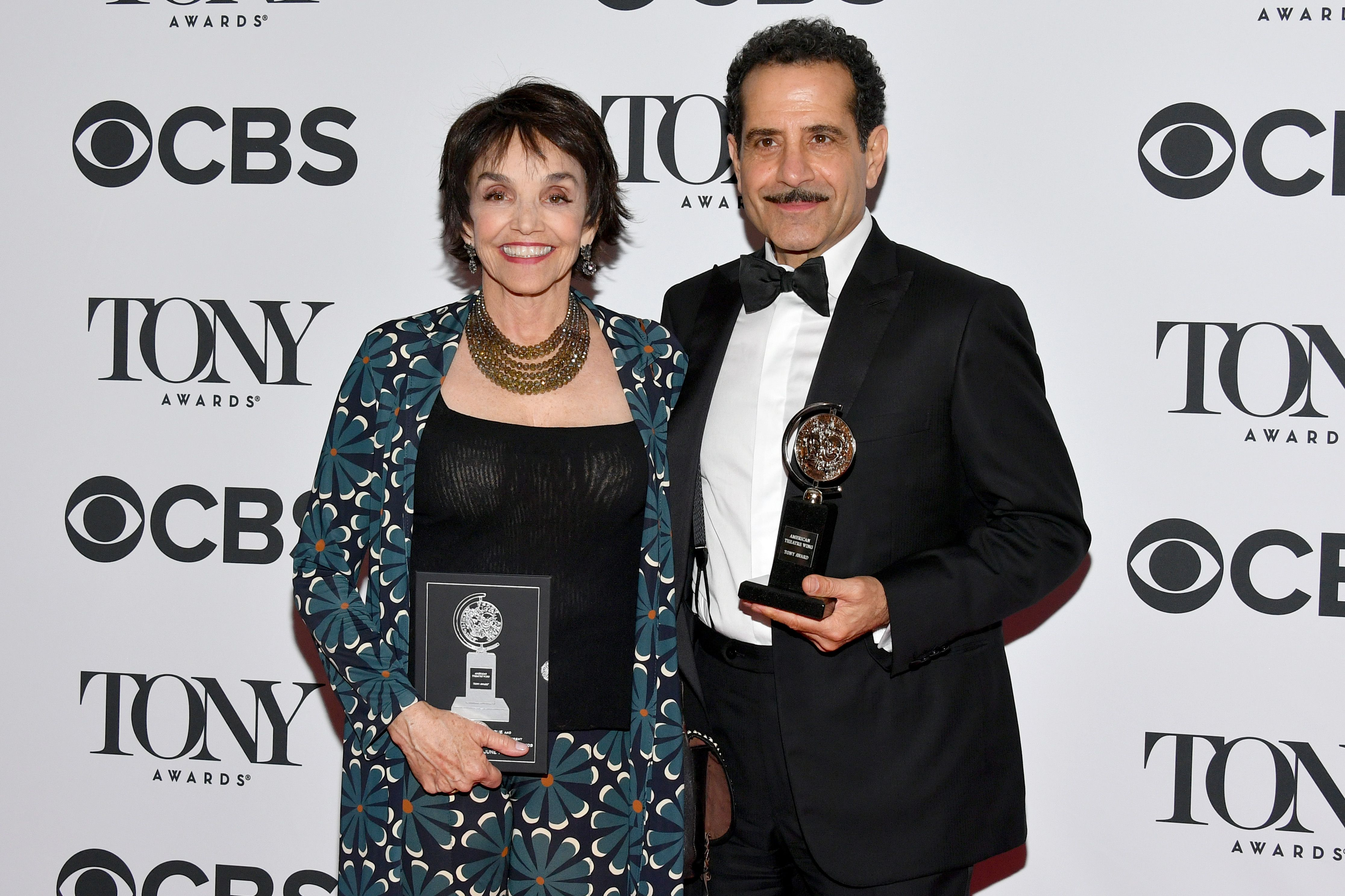 Brooke Adams and Tony Shalhoub at the 72nd Annual Tony Awards in 2018 in New York City | Source: Getty Images