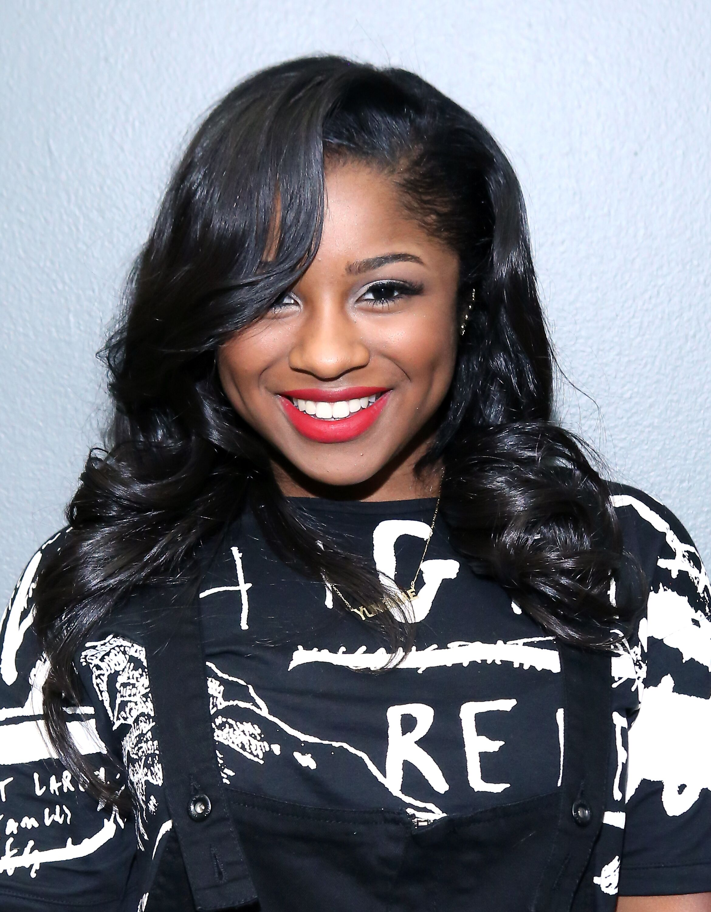 Recording artist Reginae Carter at the BET studio in August 2014. | Photo: Getty Images
