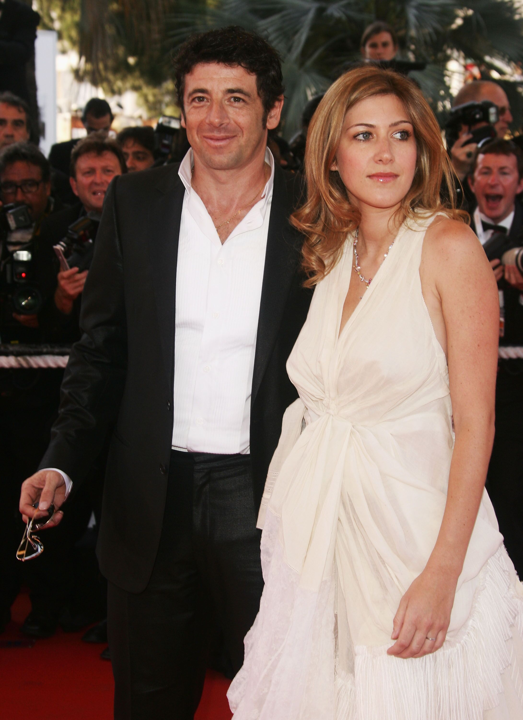 Patrick Bruel et sa femme Amanda Sthers. l Source : Getty Images